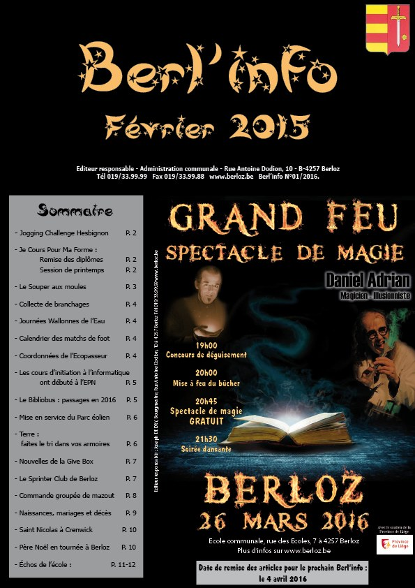 couverture Berl'info 2016 02 site Internet