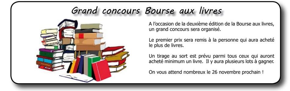 infos Bourse aux Livres