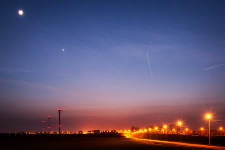 Berloz by night