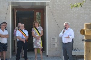 Inauguration officielle de la Berle le 2 août 2018