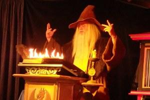 Grand feu 2015 et spectacle de magie