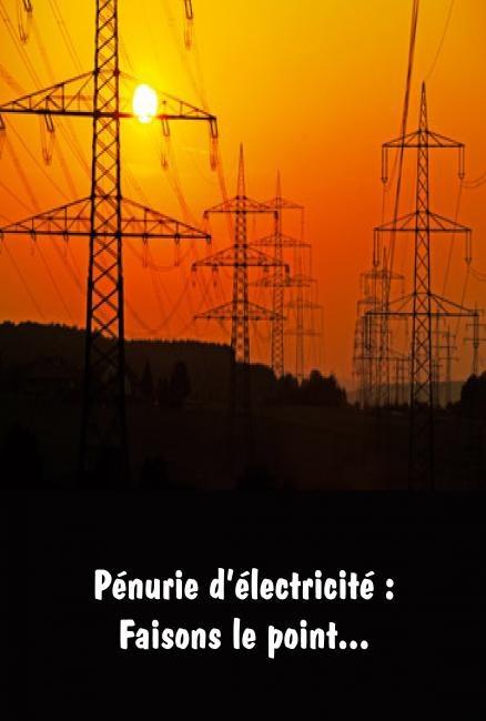 Pénurie électricité