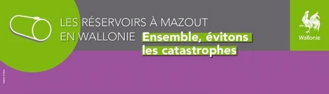 Reservoirs mazout Wallonie banner