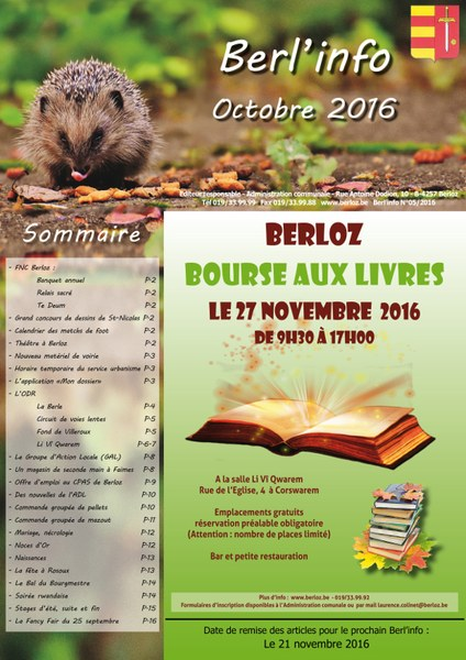 Berl'info 102016   couverture