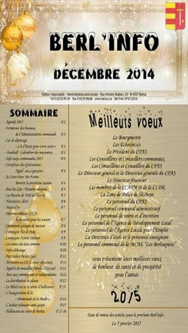 Berl'info12 2014
