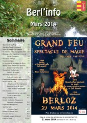 couverture Berl'info mars
