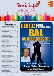 couverture berl'info septembre 2014
