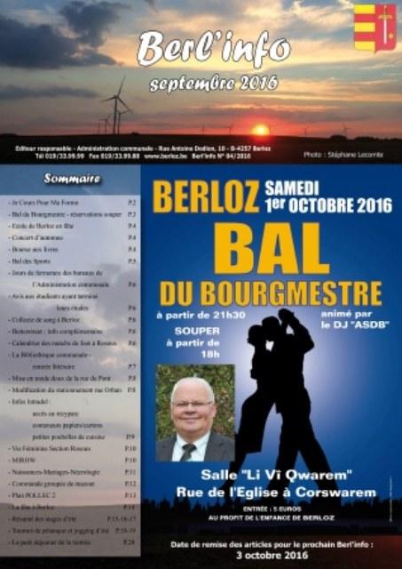 couverture Berl'info sept 2016 réduit
