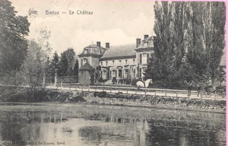 Paul Maréchal château Berloz 1928